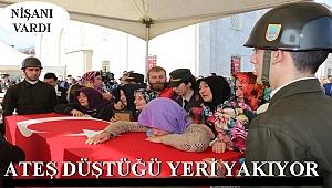 ORDU ŞEHİDİNİ CENNETE UĞURLADI