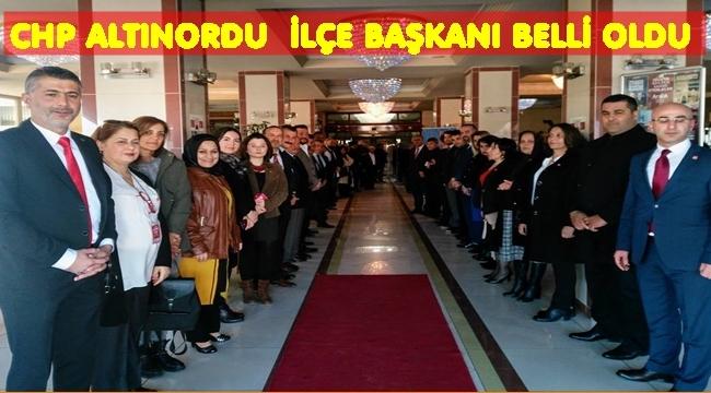 CHP Altınordu İlçe Başkanı kim oldu?
