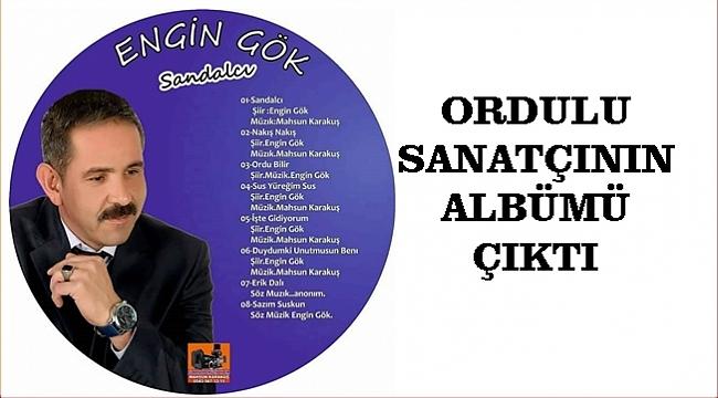 Engin Gök'ün şiir albümü çıktı