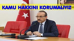 VALİ UYARDI