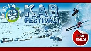 Büyükşehir Çambaşı Kar Festivalini iptal etti