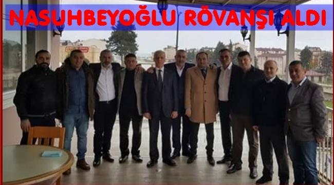Yeni başkan Nasuhbeyoğlu