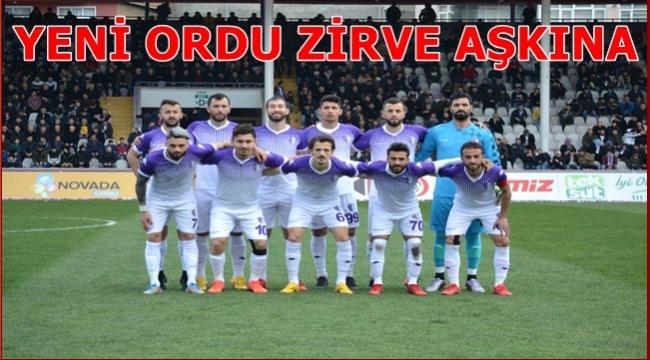 Yeni Orduspor galibiyetle başladı: 1-0