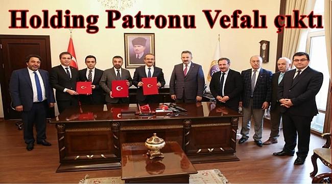Vefa Holding'in Patronu Memleketine Okul Yaptırıyor