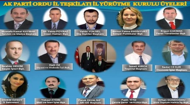 AK Parti'de Başkan Yardımcıları belli oldu