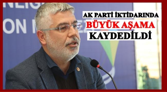 Çanak: AK Parti iktidarında Ordu'da önemli işler yapıldı