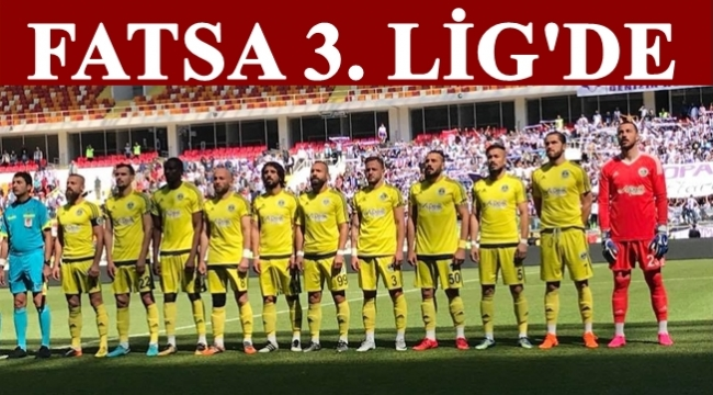Fatsa Belediyespor 3.lig'e yükseldi