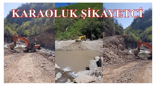 HES inşaatı yıkıp geçiyor