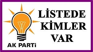 AK Parti Ordu Milletvekili Aday Listesi belli oldu