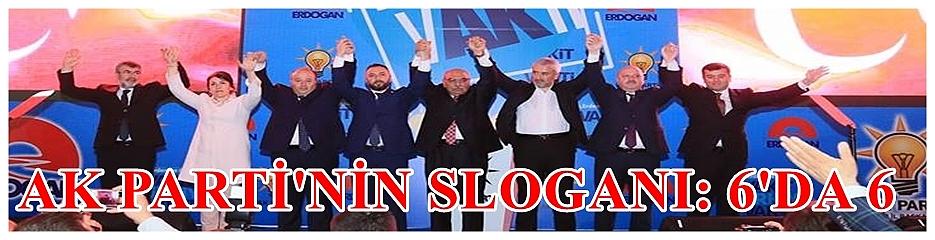AK Parti Ordu Milletvekili adaylarını tanıttı