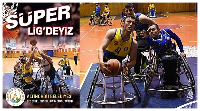 Altınordu Belediyesi Engelli Basketbol takımından büyük başarı