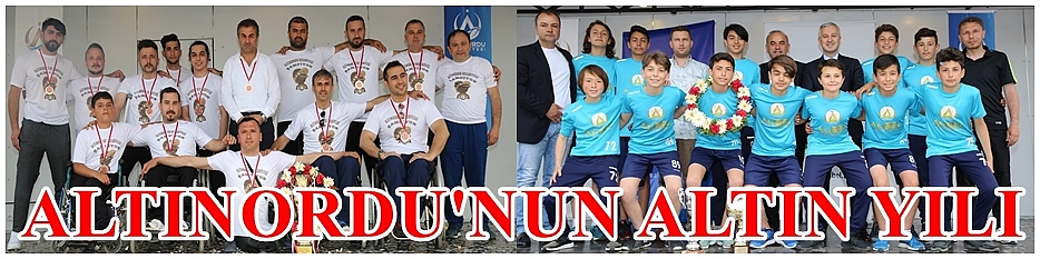 Altınordu Belediyespor'un başarısı alkışlandı
