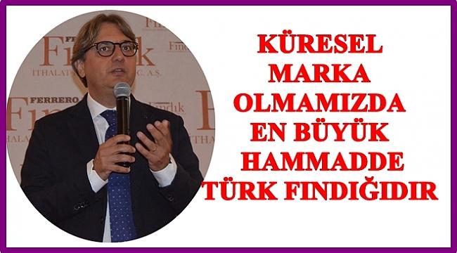 Ferrero'dan Türk fındığına övgü