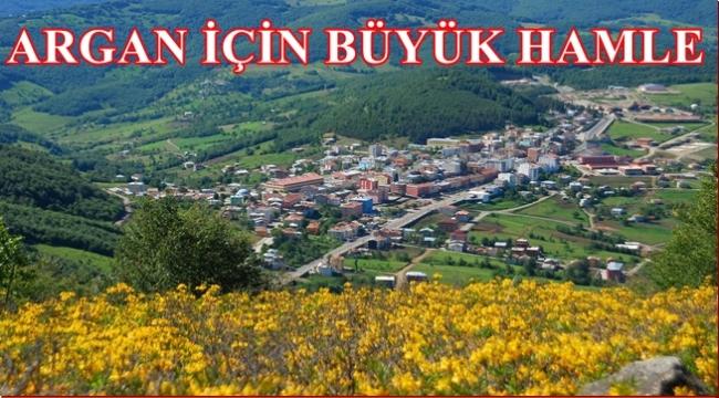 Argan Yaylası turizme kazandırılıyor