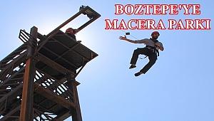 Boztepe'ye macera parkı için imzalar atıldı