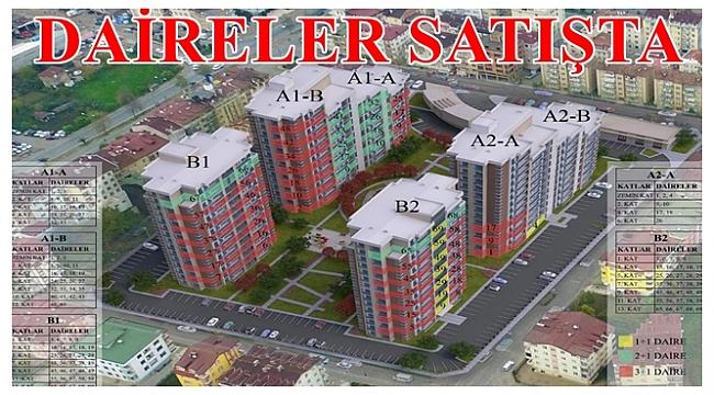 Büyükşehir 120 daireyi satışa çıkarttı