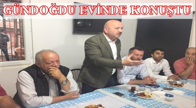Gündoğdu: 1 oy Reis'e 1 oy AK Parti'ye