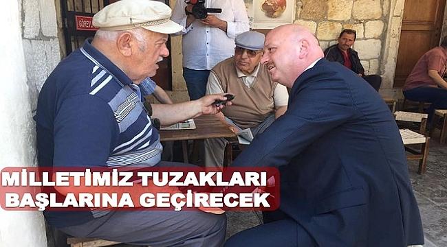 ' CUMHURBAŞKANIMIZI HEDEF ALIYORLAR'