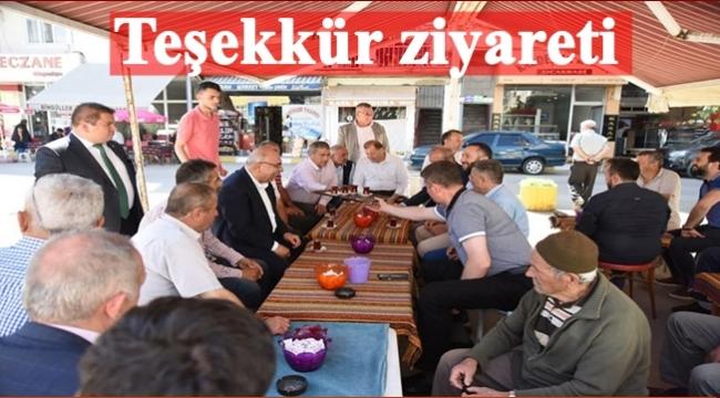 AK Parti teşekkür ziyaretinde