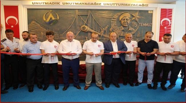 Altınordu Belediyesi'nde 15 Temmuz Köşesi açıldı