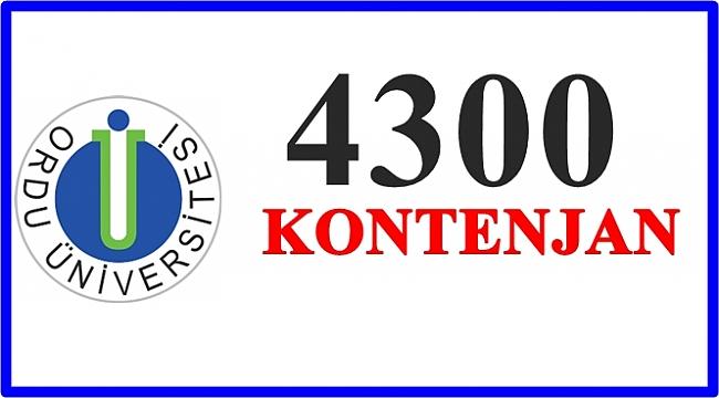 Akkuş Meslek Yüksekokuluna 50 Kontenjan Verildi