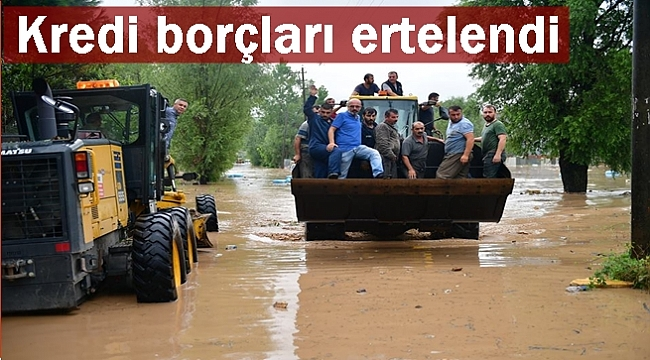 Tarım Bakanlığı sel bölgesinde hasar tespiti yapıyor