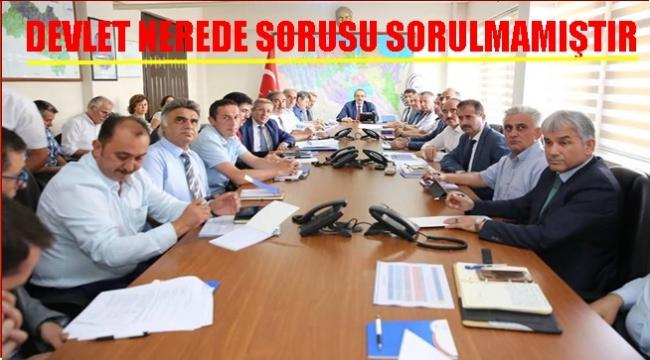 Vali Yavuz: Tüm kurum ve kuruluşlar görevini yerine getirmiştir