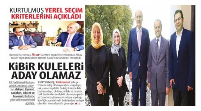 AK PARTİ'DE ADAY BELİRLEMEDE 5 KRİTER