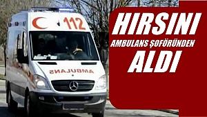 Buz kez ambulans şoförüne şiddet
