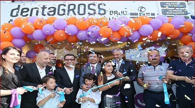 dentaGROSS Diş Sağlığı Merkezi açıldı