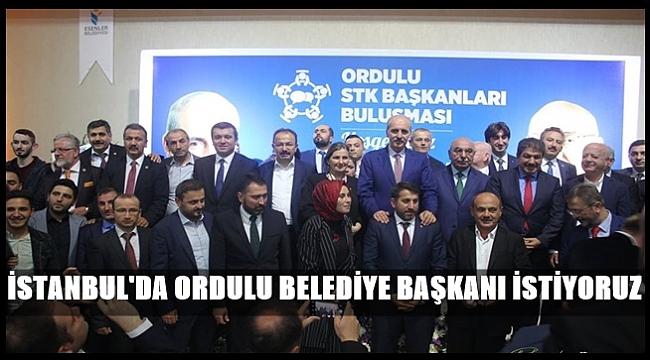 İstanbul'daki Ordulu STK'lar buluştu