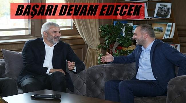 Kandemir Başkan  Yılmaz'ı ziyaret etti