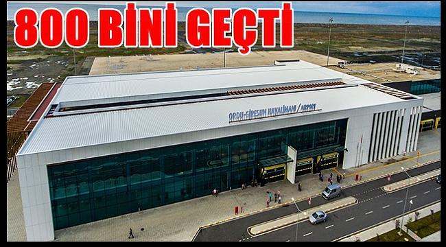 Ordu Giresun Havalimanı'nı 9 ayda kaç yolcu kullandı?
