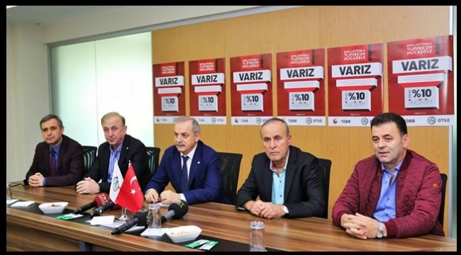 ORDU TİCARET VE SANAYİ ODASI'NDAN TAM DESTEK