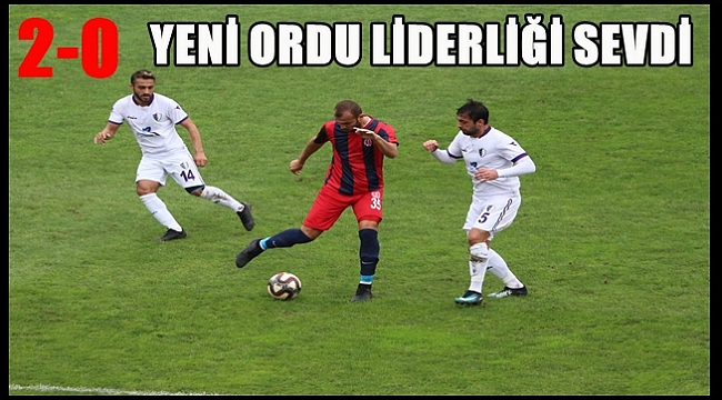 Yeni Orduspor Bergama Belediyespor'u rahat geçti: 2-0