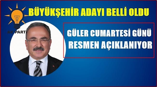 AK Parti'nin Ordu Büyükşehir Belediye Başkan Adayı M.Hilmi Güler