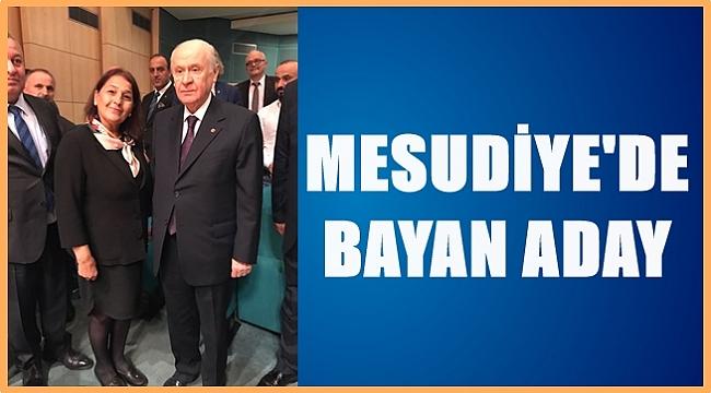 Aynur Tırnova MHP'den aday adayı oldu