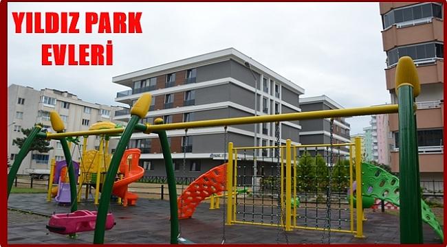 Çocuk parklarıyla çevrili proje Yıldız Park