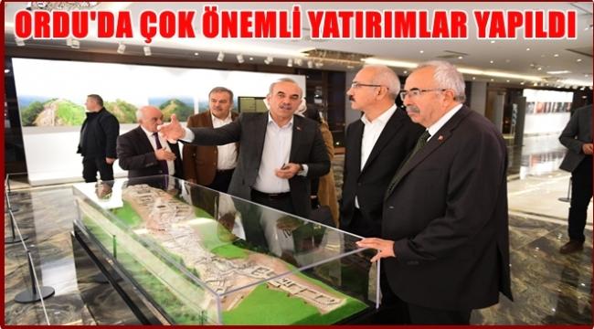 Elvan Büyükşehir Belediyesi'ni ziyaret etti