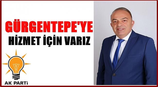 Ersoy: Gürgentepe'ye hizmet etmek istiyorum