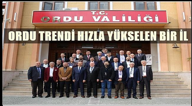 Gazetecilerden Vali Yavuz'a ziyaret