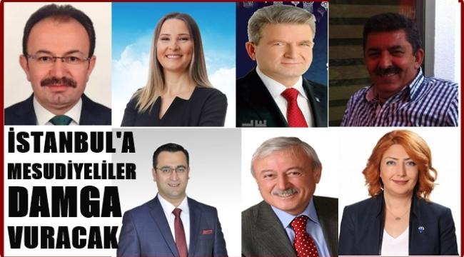 İstanbul'da 7 Mesudiyeli aday var