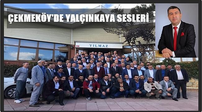 Yücel Yalçınkaya Çekmeköy'e aday adayı oldu