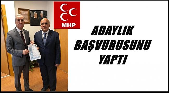 Arslan Kılıç MHP'den başvuru yaptı