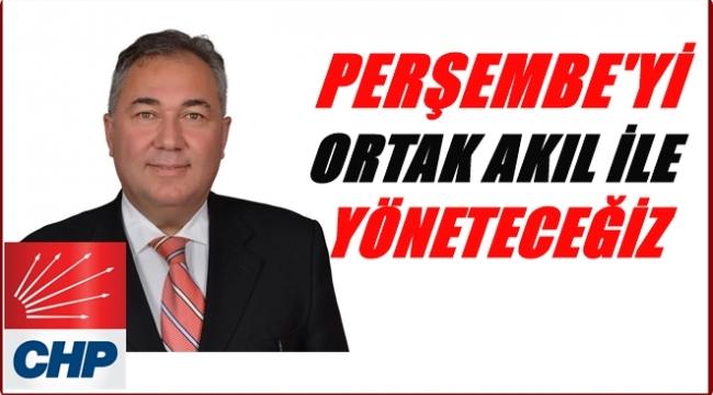 Ata Alkan Perşembe için belediyecilik anlayışını açıkladı