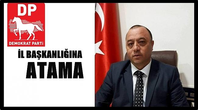 DP'de Yeni İl Başkanı Ercan Gündüz