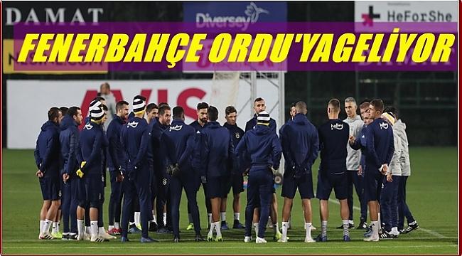 Fenerbahçe Çarşamba günü Ordu'da