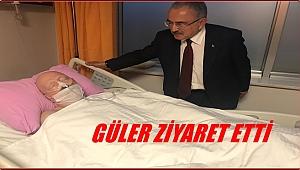 Gazeteci Tuncer Engin hastanede tedavi görüyor