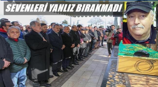 Gazeteci Tuncer Engin toprağa verildi