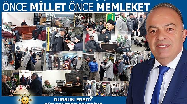 Gürgentepe'de Dursun Ersoy ismi öne çıkıyor